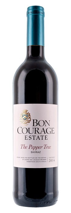 Bon Courage Shiraz The Pepper Tree