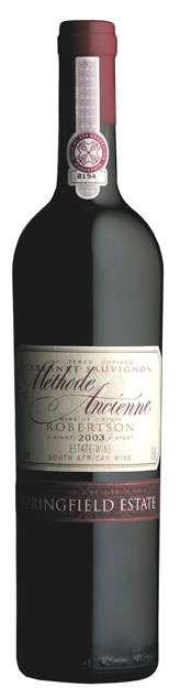 Springfield Estate Methode Ancienne Cabernet Sauvignon
