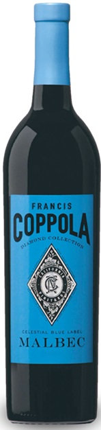Francis Coppola Malbec, Blue Label Diamond Collection
