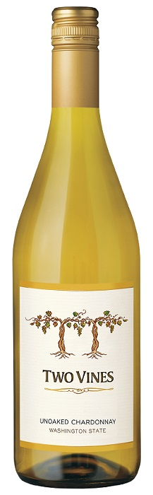 Columbia Crest Two Vines Unoaked Chardonnay