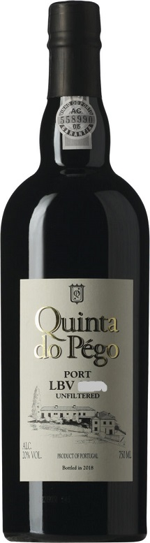 Quinta do Pego Late Bottled Vintage Port - Unfiltered 0,75