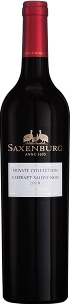 Saxenburg Private Collection Cabernet Sauvignon