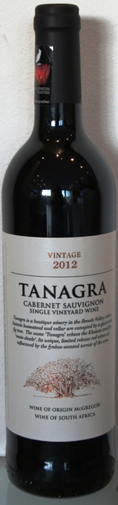 Tanagra Single Vineyard Cabernet Sauvignon