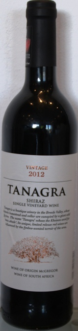 Tanagra Single Vineyard Shiraz